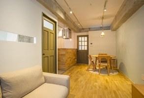 53平米の空間で親子三人が、開放的に快適に楽しく暮らす家