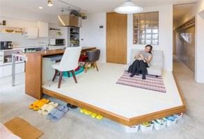 DIY女子とワンちゃんが暮らす!室内ドッグラン機能がある幸せ空間