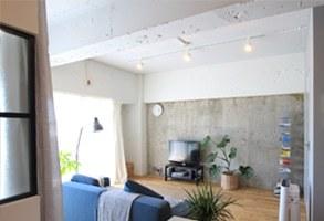 【リノベーション事例】サブウェイタイルがアクセントの土間で暮らすシングルルーム