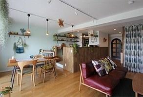 北欧雑貨と暮らす家