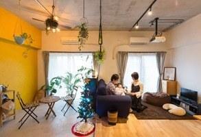 """【リノベーション事例】インナーテラスが子供部屋に。家族を""""育む""""リビング"""