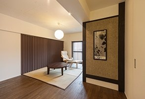 【リノベーション事例】旅館に住みたい!から生まれたオリジナル和モダン。