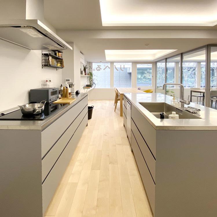 デザインと使い勝手にこだわったキッチン